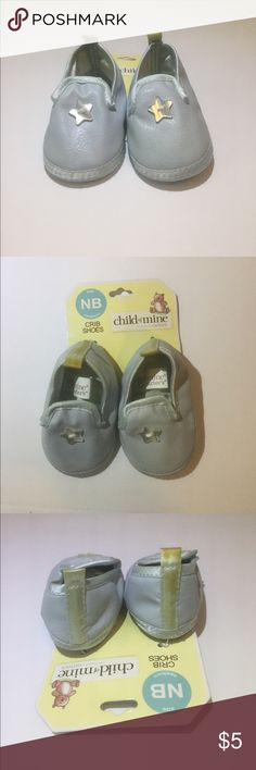 New born Crib Shoes New and have been sitting in a closet for awhile -they are stained on the back part while they were stored. -message for any questions! Carter's Shoes Baby & Walker