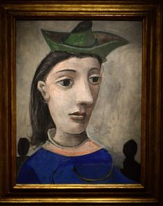 https://flic.kr/p/n3b9dM | Pablo Picasso - Woman with Green Hat