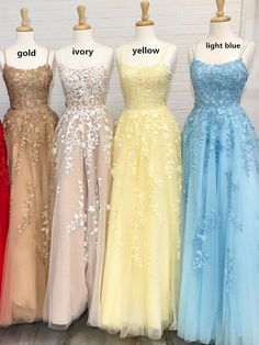 Stylish Prom Dresses for Teenage Girls. Use these fantastic prom dress ideas, get yourself noticed and look absolutely fabulous under the glimmering lights on the dance floor. kleider Cute Prom Outfits for Teen Girls - Outfit Trends Straps Prom Dresses, Pretty Prom Dresses, A Line Prom Dresses, Cheap Prom Dresses, Prom Party Dresses, Homecoming Dresses, Dress Party, Formal Dresses, Bridesmaid Dresses