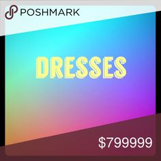 DRESSES: Part of my section 'Women's Wear'. I've sectioned divisions of my items.  PLEASE SCROLL FOR MORE!  I also have lots of women's wear, bags, shoes, jewelry, kids, men's, accessories, skin care and so on! Dresses