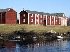 Traditional farmhouse in Liminka, North Ostrobothnia, #Finland | Ala-Temmes, Liminka, Pohjois-Pohjanmaa - Norra Österbotten - Northern Ostrobothnia