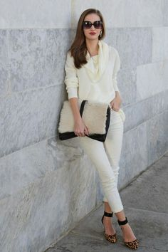Winter White Casually Styled