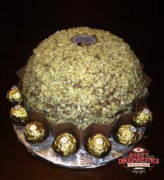 Ferro Rocher Cake