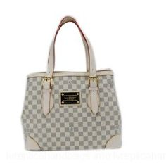 Louis Vuitton Damier Canvas Handbag LV M51206