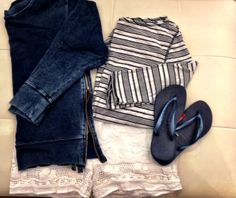 Cute look for the Hamptons!