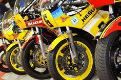 Race bikes
