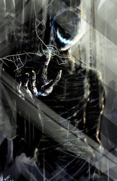 Ajin Anime, Manga Anime, Dark Fantasy Art, Dark Art, Demi Human, Demon Art, Creepy Art, Dark Anime, Horror Art
