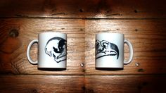 Bird Mug by Trois de Coeur by on Etsy Animal Skulls, How To Draw Hands, Bird, Mugs, Tableware, Etsy, Stuff To Buy, Dinnerware, Cups