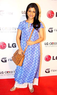 Konkana Sen Sharma at LG Mobile launch event. #Style #Bollywood #Fashion #Beauty