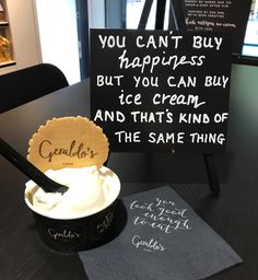 Something to brighten your day? Artisan Ice Cream, Make Ice Cream, Brighten Your Day, Are You Happy, Treats, Make It Yourself, Seaside, Ethnic Recipes, How To Make