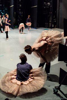 Backstage at the Mariinsky's Midsummer Night's Dream / Photo © Eugeny Lyulyukin