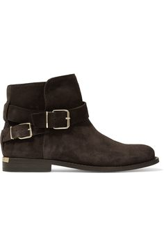 BURBERRY | London suede ankle boots #Shoes #Boots #Ankle #BURBERRY
