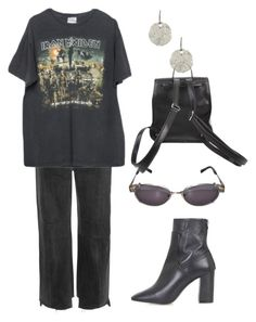 """""""Untitled #695"""" by lucyshenton ❤ liked on Polyvore featuring Lucky Brand, Vetements, Brandy Melville, Jean-Paul Gaultier, Giro and Topshop"""
