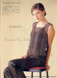 Summer vest-free chart