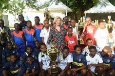 Lancement de la  9eme Edition du tournoi de football de la Fondation Children of Africa