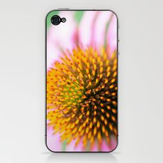Coneflower iPhone & iPod Skin by Captive Images Photography - $15.00
