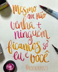 #bandadomar #musica #caligrafia #frases #santos #music #calligraphy #design #art #style #customtype #handtype #calligritype #type #typespire #typelove #welovetype #goodtype #thedesigntip #lettering #typism #typography #handmadefont #thedailytype #scriptart #font #poster #followme #brush #brushpen