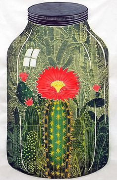 Nature Captured - woodblock prints by artist, John Buck