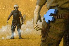 Você provavelmente já viu alguma ilustração do artista polonêsPawel Kuczynskicirculando por aí. Ele é famoso por usar suas habilidades de ilustração para, principalmente, fazer críticas provocativas e inteligentes. Suas ilustrações tem temas variados, mas separamos algumas que tratam de um assunto recorrente: o Facebook. Confira as provocativas ilustrações dePawel Kuczynski sobre a famosa rede social: …