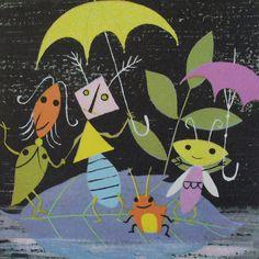 "From ""A Child's Garden of Verses"" by Robert Louis Stevenson, illustrations by Alice & Martin Provensen. 1951. via judibird."
