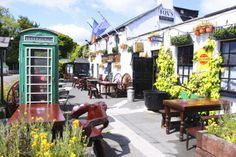 Johnnie Fox's, Wicklow...great outdoor space!!!