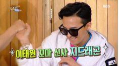 Enjoy Korea with Hui: Big Bang appears on Happy together Korean Variety Shows, Korean Entertainment, Happy Together, Bigbang, Bangs, Mens Sunglasses, Style, Fashion, Fringes