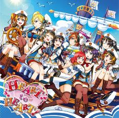 love live - heart to heart