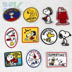 SK DIY Patches little cute lovely dog patch puppies embroidery badge patches for clothing sew hot iron on jeans DIY patch Diy Patches, Iron On Patches, Flying Ace, Clothing Patches, Hipster Outfits, Badge, Snoopy, Puppies, Embroidery