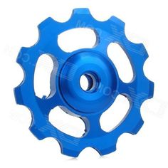 UU-OM Aluminum Alloy Cnc Bike Rear Derailleur Guide Pulley Wheel - Blue