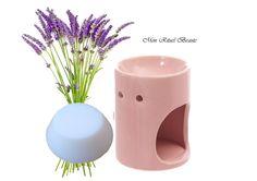 Cire végétale naturelle pour brûleur de parfum à l'huile essentielle de lavande bio : Soin, bien-être par mon-rituel-beaute