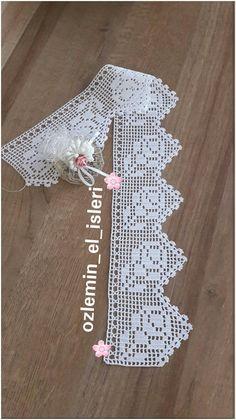 Bico de Crochê Passo a Passo: 45 Modelos + Gráficos e Vídeos Crochet Boarders, Crochet Edging Patterns, Crochet Lace Edging, Crochet Leaves, Filet Crochet, Crochet Yarn, Knitting Yarn, Crochet Stitches, Spiral Crochet