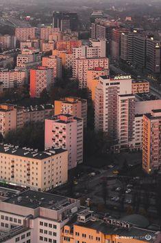 Warsaw tower blocks