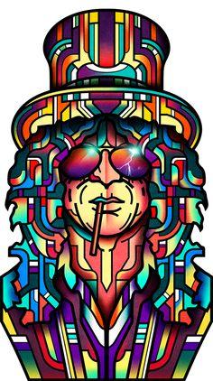 Slash for Rolling Stone on Behance