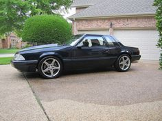 Ford mustang foxbody notch