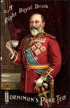 Postcard, 1910, Künstler Ak Horniman's Pure Tea, Right Royal Drink