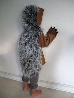Igel Grüffelo hedgehog Kinderkostüm Igel Monster von maiiberlin