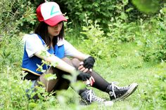 Ash crossplay by ~Hisui-camui