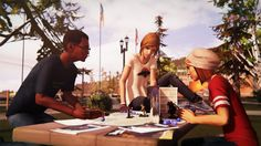 We can't believe it's already August 31 and Life is Strange: Before the Storm Episode One: Awake comes out today on Xbox One! In Life is Strange: Before the Storm you Blue Haired Girl, Life Is Strange 3, Ps4 Or Xbox One, Fantasy Authors, Strange Photos, Just A Game, Trailer, Best Games, Videogames