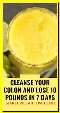 Natural Colon Cleanse Recipe For Fast Weight Loss #NaturalColonCleanseDetox #TurmericPills Natural Colon Cleanse Detox, Colon Cleanse Drinks, Natural Detox Drinks, Cleanse Diet, Weight Loss Drinks, Fast Weight Loss, How To Lose Weight Fast, Losing Weight, Fat Fast