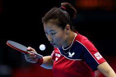 Day 1:  Table Tennis - Women's Singles - Yuan Tian of Croatia