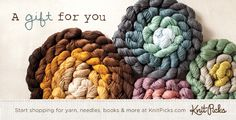 Gift Cards from Knitpicks.com - Get your favorite knitters exactly what they want for Birthdays, Holidays and more!