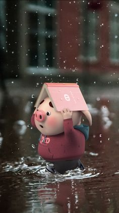 Pig Wallpaper, Cute Patterns Wallpaper, Cute Disney Wallpaper, Cute Wallpaper Backgrounds, Wallpaper Iphone Cute, Cute Cartoon Wallpapers, Screen Wallpaper, Wallpaper Quotes, Cute Rabbit Images
