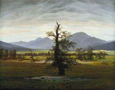 Caspar David Friedrich – The Lone Tree