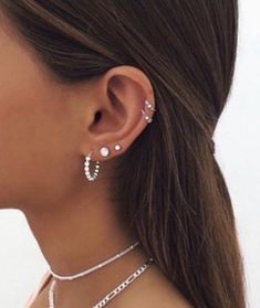 Unique Ear Piercings, Ear Piercings Chart, Piercing Chart, Ear Peircings, Types Of Ear Piercings, Ear Piercings Cartilage, Double Cartilage, Tongue Piercings, Ear Jewelry