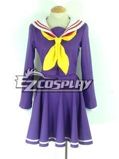 No Game No Life Shiro Purple Cosplay Costume #EveryoneCanCosplay! #Cosplaycostumes #AnimeCosplayAccessories #CosplayWigs #AnimeCosplaymasks #AnimeCosplaymakeup #Sexycostumes #CosplayCostumesforSale #CosplayCostumeStores #NarutoCosplayCostume #FinalFantasyCosplay #buycosplay #videogamecostumes #narutocostumes #halloweencostumes #bleachcostumes #anime
