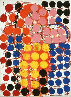 "Atsuko Tanaka, ""Work,"" 1957, Courtesy and the Collection of Ashiya City Museum of Art & History ©Ryoji Ito."