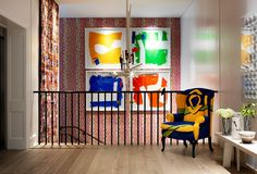 Ham Yard Hotel art