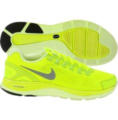 $89.99 Nike Women's LunarGlide+ 4 Running Shoe. I love these bright & blinding shoes so very much!!!!!!