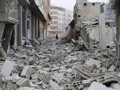 devastation of aleppo syria