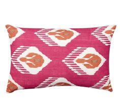 Katrea Print Indoor/Outdoor Pillow | Pottery Barn